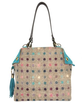 Feerie Flapper Sand Multi Spotty