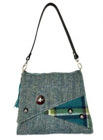 Harris Tweed Limited Edition Teal Tweedside Toonie